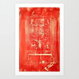 Mary's Altar in The Duomo, Florence Art Print