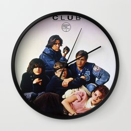 The Breakfast Club Tv Wall Clock