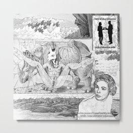 The constellation erotique 3059 Metal Print