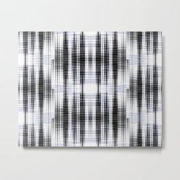 Modern wave pattern Metal Print