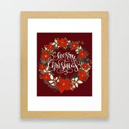 Christmas Greetings 5 Framed Art Print