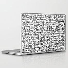 For Alan Laptop & iPad Skin
