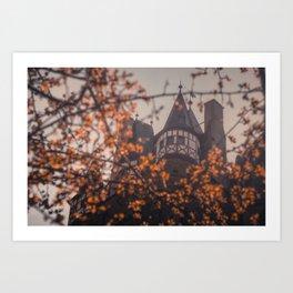The Burg Art Print