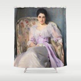 "John Singer Sargent ""Lady Agnew"" Shower Curtain"