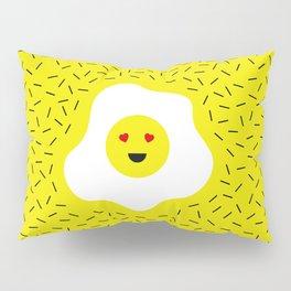 Eggs emoji Pillow Sham