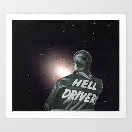 Just drive Art Print