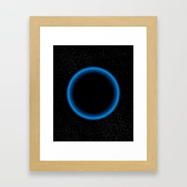 Blue Bright Framed Art Print