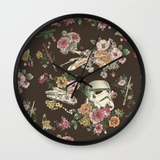 Botanic Wars Wall Clock