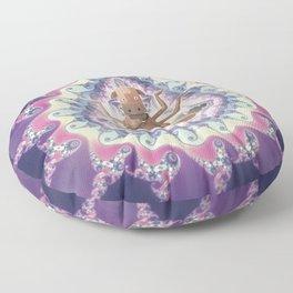 Psicodelic Cow's Inspiration Floor Pillow