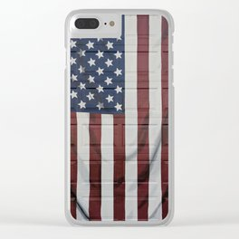 A flag for Johnson Clear iPhone Case
