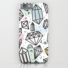 Gemstones iPhone Case