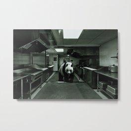 enimals 3 panda Metal Print