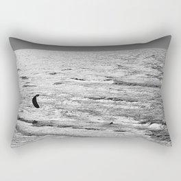 Kite Surfer Rectangular Pillow
