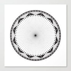 Circle Pattern 228 Canvas Print