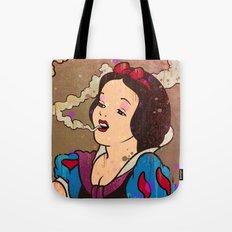 Snow White Girl Tote Bag
