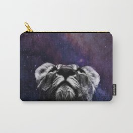 Galaxy Lion Carry-All Pouch