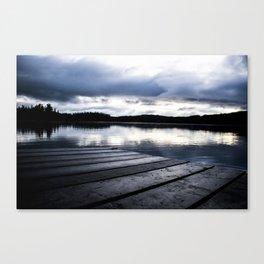 Oyama Lake BC Canada 7 Canvas Print