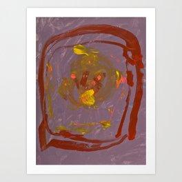 Abstrainia Art Print