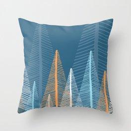 Deep Forest - Dusk Throw Pillow