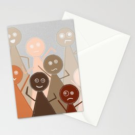 Different Person Different Perception Stationery Cards
