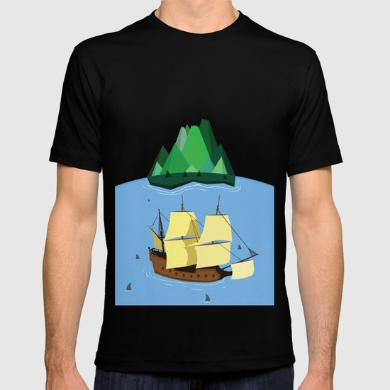 A Galleon on the High Seas T-shirt