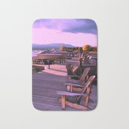 Afternoon On The Dock Bath Mat