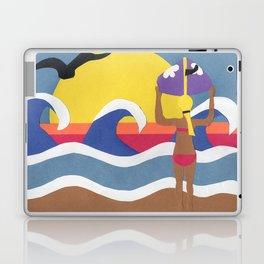 Surfer Girl Laptop & iPad Skin