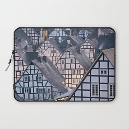 Historic half-timbered houses of Germany Laptop Sleeve