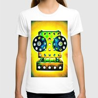 dj T-shirts featuring DJ by Yukska