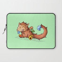 Sock Monkey Laptop Sleeve