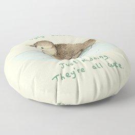 Ugly Duckling Floor Pillow
