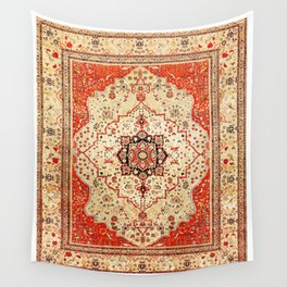 Mohtasham Kashan Antique Persian Rug Print Wall Tapestry
