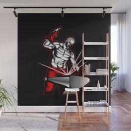 illustration of a blacksmith Wall Mural