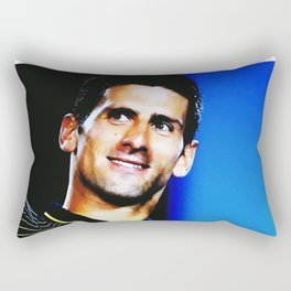 Novak Djokovic No.1 Rectangular Pillow