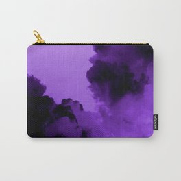 Purple stormy clouds Carry-All Pouch