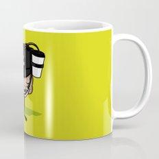 He loves coffee a lot!!!! Mug