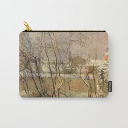 Paul Gauguin - Garden in Snow (1883) Carry-All Pouch