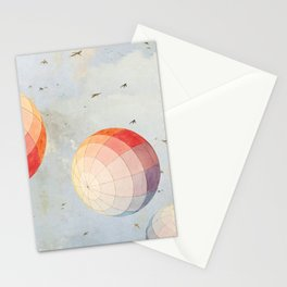 I found you falling from the sky Stationery Cards
