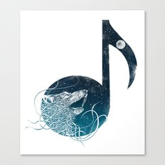 Night Sounds Canvas Print