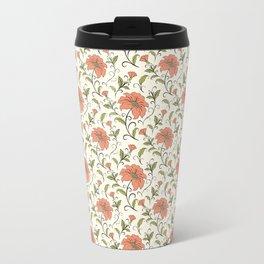 Vintage floral print Travel Mug