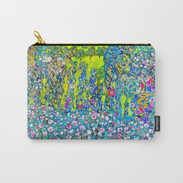 "Gustav Klimt ""Horticultural Landscape with hilltop"" Carry-All Pouch"