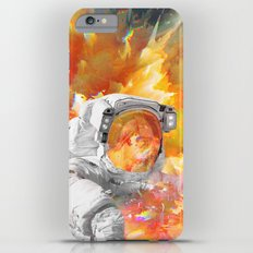 Engulfed Cosmonaut Slim Case iPhone 6 Plus