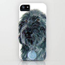 Labradoodle Pair iPhone Case