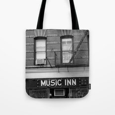'Music Inn' New York Tote Bag
