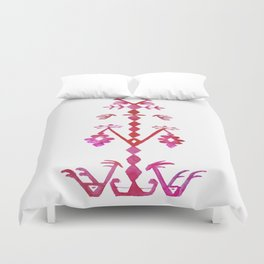 Ethnic Kilim Pattern Tree of Life Duvet Cover