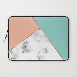 Marble Geometry 056 Laptop Sleeve