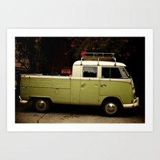 VW Doka Art Print