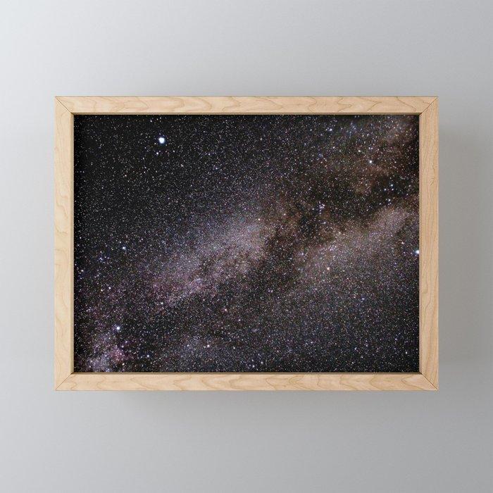 The Milky Way Framed Mini Art Print