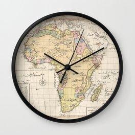 Africa 1803 Wall Clock