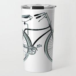 vintage bicycle Travel Mug